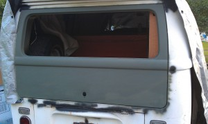 Back Hatch Primed