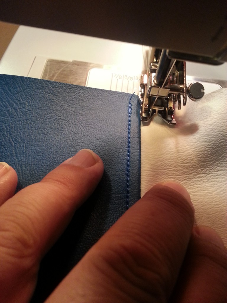Practicing french seams